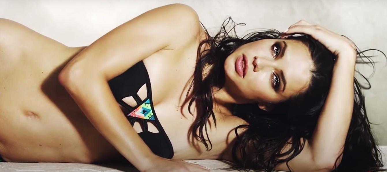 TOP 10 Most Beautiful Brunette Women - Adriana Lima