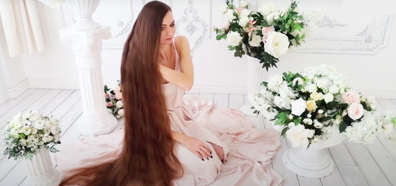 Girl with long hair Daria