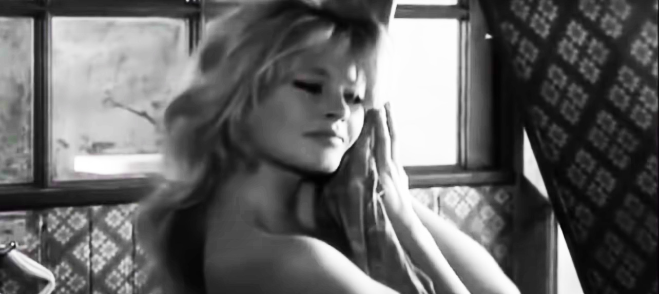 Pretty lady Brigitte Bardot