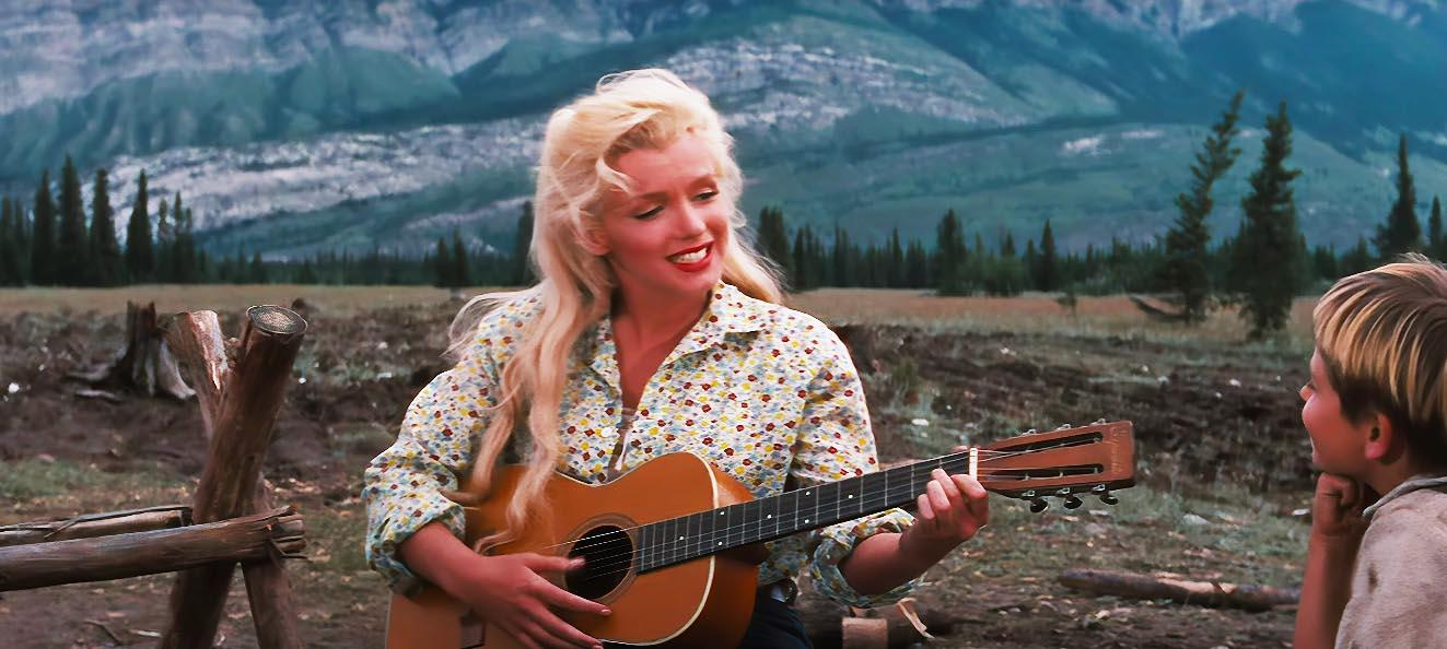 Pretty Lady Marilyn Monroe