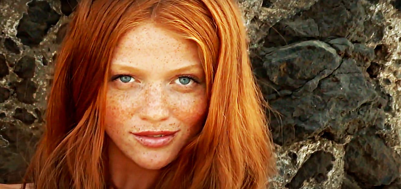 Beautiful Redhead Women