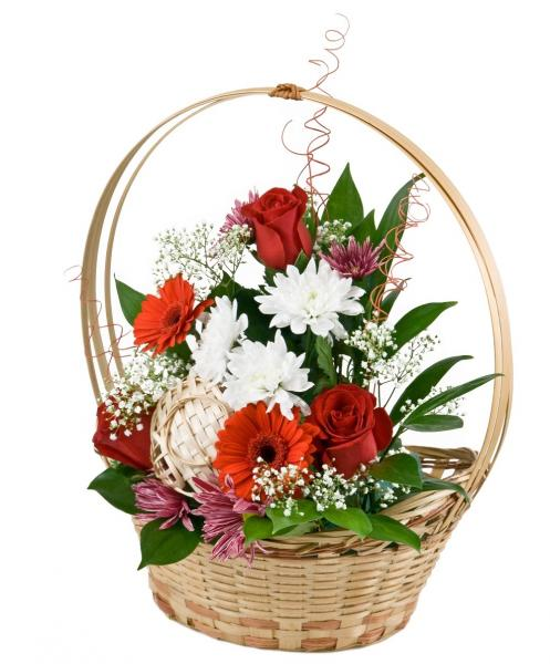 "Basket ""Kisses for you"". basket-kisses-for-you-KV4.jpg"