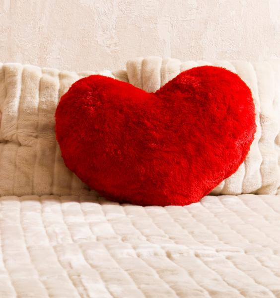 Heart-shaped pillow. heart-shaped-pillow-472.jpg